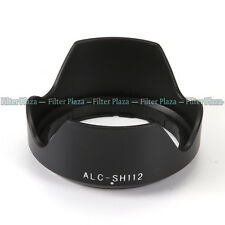 SH112 Lens Hood for Sony NEX-7 NEX-3 NEX-5 18-55mm f/3.5-5.6 16mm f/2.8 E Mount