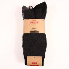 LEVI'S MEN'S 4 PAIRS SUPERIOR COMFORT SOCKS SIZE 8-12