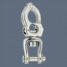 Wichard   HR 2857 moschettone sgancio rapido c/girella apribile 135mm