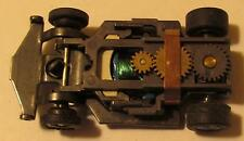 AFX Super III Chassis #1801, Unused with Green Wire Blue Lamination Drag Arm