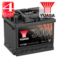 Yuasa SMF Car Battery Calcium 12V 45Ah 425CCA SOCI T1 For Ford Fusion 1.4
