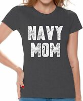 Navy Mom Shirt Mom Shirts for Women Military Mom Tshirt Mom Gifts for Women