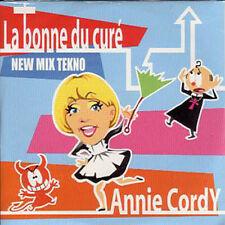 CD Single Annie CORDY La bonne du curé new mix techno