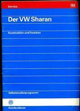 VW--Kundendienst---Selbststudienprogramm  Nr. 169--Der VW Sharan-