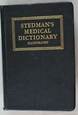 1946 Stedman's Medical Dictionary,  16th Revised edition.  Solid Binding,