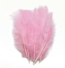 Fluffy marabou dyed turkey feather Art Craft Millinery Costume 4-6 inches long