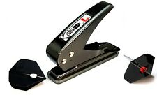 L STYLE SHELL LOCK DART FLIGHT HOLE PUNCH - To Be Used With Shell Lock Rings
