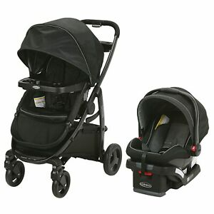 Graco Modes2Grow Travel System in Dayton w/ Snuglock 35 Infant Car Seat and Base
