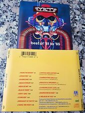 Y&T Yesterday & Today Best Of Hits CD Summertime Girls Mean Streak Rescue Me