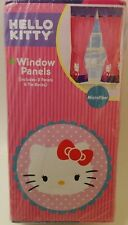 Hello Kitty Window Panels Curtains Drapes Drapery