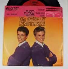 The Everly Brothers – Don't Blame Me / Muskrat VG++