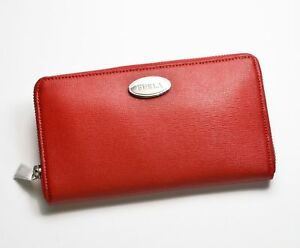 Furla Women's Classic Wallet Zip Around Saffiano Leather Pick A Color Red Taupe