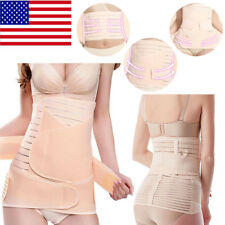 3 In1 Postpartum Belt Belly Wrap Body Shaper Support Recovery Girdle After Birth