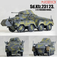 DRAGON WWII GERMAN Sd.Kfz.231 23. 1/72 tank model finished non diecast
