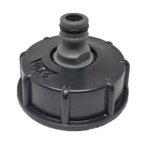 IBC Tank Adapter Adaptor Connector Tap Hose Hoze Cap Water Bowser Standard T1Z3
