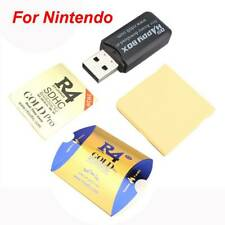For R4 Gold SDHC Nintendo DSi/DS/2DS/3DS XL Revolution Cartridge & USB Adapter