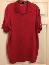 Mens Nike Dri-fit  Golf shirt, size XL, red, short sleeve, Nice.