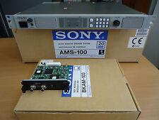 SONY AMS-100 AUDIO MONITOR SPEAKER UNIT WITH 2 SDI AUDIO DE-EMBEDDER MODULES-NEW
