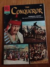 The Conqueror John Wayne Dell Four Color #690 1956 Genghis Khan Movie Classic