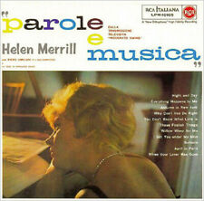 Helen Merrill - Parole e Musica - Jazz  CD in replica vinyl sleeve