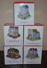 Liberty Falls Village Collection Set/5 1993/1994 Ah41 Ah42 Ah43 Ah44 Ah45 Vtg