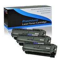 3 Pack Toner Cartridge for HP 508X CF360X LaserJet Enterprise M552 M553 M553dn