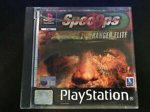 Spec Ops Ranger Elite PS1 Game UK PAL USED