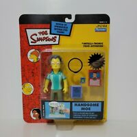 Playmates The Simpsons HANDSOME MOE Figure World of Springfield Series 15 2003