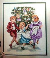 Cross Stitch Pattern Christmas CHILDREN Dancing QUADRILLE DANCE Carol Emmer