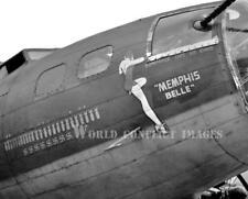 USAAF WW2 B-17 Bomber Memphis Belle #14 8x10 Nose Art Photo 91st BG Bassingbourn