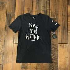 Nike x Lebron James Dri-Fit More Than An Athlete Shirt Black Ci1393 010 sz M