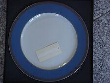 Grande assiette présentation 31cm Rosenthal VERSACE Méandre pétrol NEUVE 179€