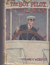 WEBSTER-THE BOY PILOT OF THE LAKES   DUST JACKET