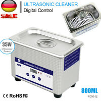 Digital Ultraschall Reiniger 800ML Ultraschallreinigungsgerät Ultrasonic Cleaner