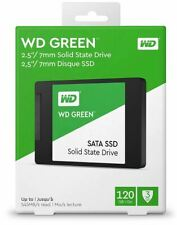 120GB SSD Drive WD Green SATA 2.5 Inch SSD. Brand New Boxed & Sealed