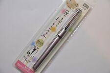 Pentel Refillable Pocket Brush Pen Violet Barrel + 2 Black Ink Cartridges