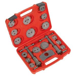 Sealey Tools VS0282 Brake Caliper Piston Wind Back Tool Kit 21pce BB21