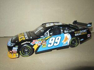 901Q Action Platinum Series Ford Fusion NASCAR 2010 Carl Edwards #99 Aflac 1:24