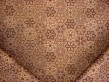 2Y KRAVET 32247 MADIERA COPPER GOLD FLORAL MEDALLION DRAPERY UPHOLSTERY FABRIC