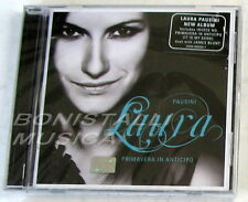 LAURA PAUSINI - PRIMAVERA IN ANTICIPO - CD Sigillato