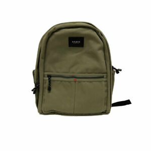 State Bags Olive Canvas Bedford Backpack $90 NEW