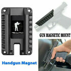 Gun Magnet Mount, Quick Draw Loaded Magnetic Gun Holster Concealed Gun Holder