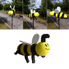 Smiley Honey Bumble Bee Car Antenna Aerial Ball Decor Topper Auto Decoration