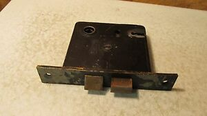 Antique Cast Iron Russwin Mortise Lock No. 26
