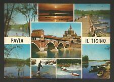 AD9954 Pavia - Città - Il Ticino - Vedute