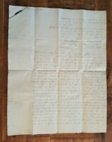 ANTIQUE English Hand Written Land Indenture(King George IV) - March 1820/Signed