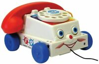 Fisher-Price Classics 1694 Chatter Telephone, Retro Baby Push Multicolor