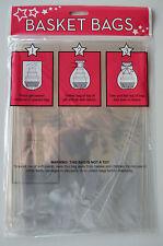 Cellophane Hamper Wrap Basket Gift Wrap Large  Basket Bag Pack of 2