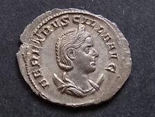 Herennia Etruscilla A.D.249-51, Antoninianus.. Rev-Pudicitia seated left.. EF