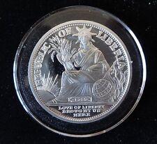 2000 1OZ FINE SILVER PROOF LIBERIA $20 COIN + COA  MILLENNIUM YEAR 2 KILOBYTES